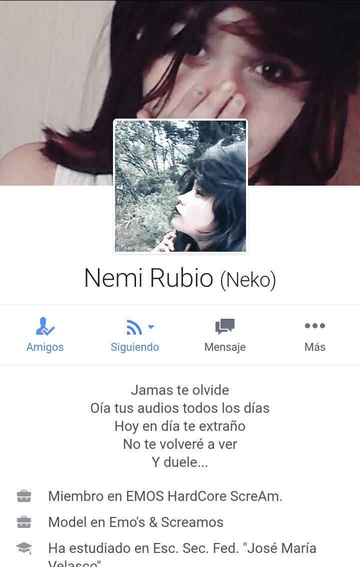 Nemi Rubio Chica Emo Linda De Pack De Facebook