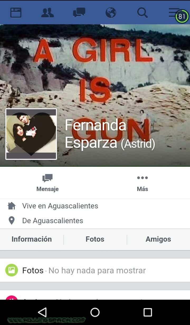 Fernanda Esparza Teen Tetona De Facebook Pack De Fotos Amateur